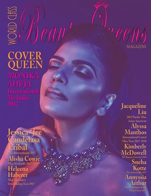 World Class Beauty Queens Magazine, Monika Ahuja