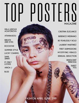 TOP POSTERS MAGAZINE- FASHION, APRIL (Vol 299)