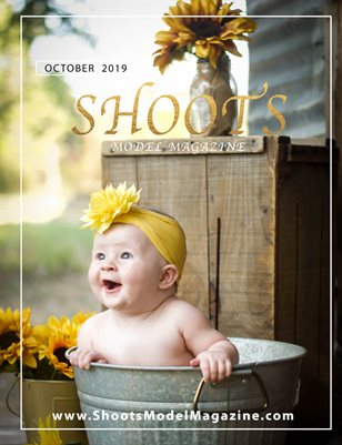 October 2019 Sunflowers - Shoots Model Magazine