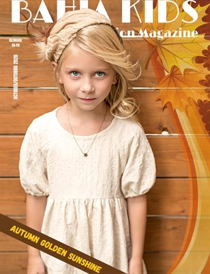 Bahia Kids Fashion Magazine October #4