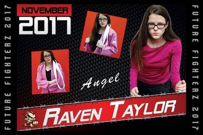 Raven Taylor Cal Poster 2017