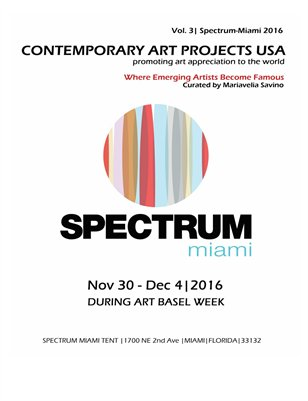 Contemporary Art Projects USA | Spectrum Miami 2016 | Booth #315