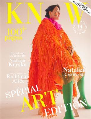 KNOW Magazine The Art Edition June 2021_