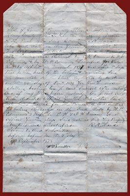 1877 E.H. DUNCAN TO W.P. EDMONDS, HENRY COUNTY, TENNESSEE