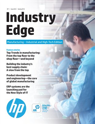 HP Industry Edge: Manufacturing - Asia-Pacific Industrial & High-Tech Edition