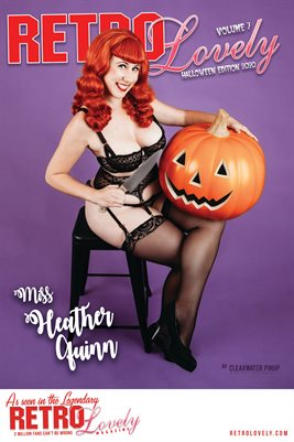 Miss Heather Quinn Cover Poster