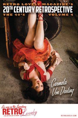 20th Century Retrospective – The 40's Vol. 4 – Carmela Von Darling Cover Poster