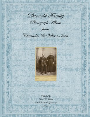 Darnold Family Photograph Album from Clarinda & Villisca, Iowa