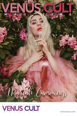 Venus Cult No.43 – Mariah Cummings Cover Poster