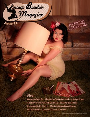 Vintage Boudoir Magazine - Issue 11 with Candy Coconuts