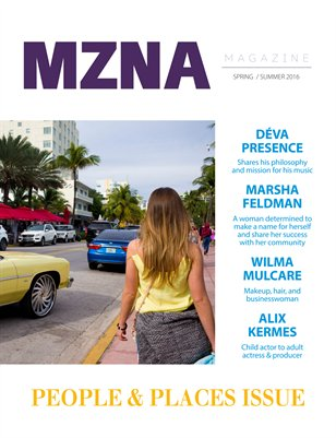 MZNA Magazine Spring/Summer 2016