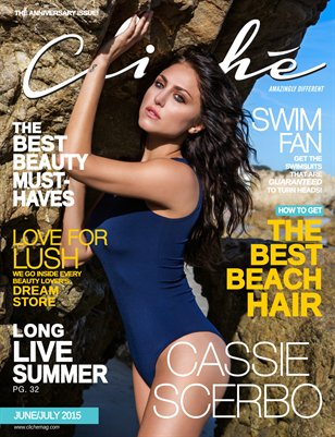 Cliché Magazine - June/July 2015 (Cassie Scerbo Cover)