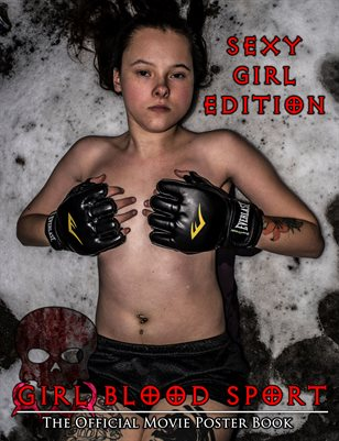Girl Blood Sport Official Poster Book - Sexy Girl Edition
