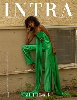 November Edition 2020 - Issue 0.48 - Cover by Elysha O'Grady