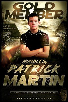 Patrick Martin Gold Member/Diploma Poster