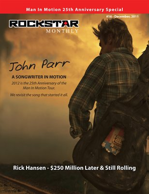 Mini Mag #16 (Dec. '11) - John Parr/Rick Hansen Man In Motion Special