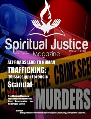 Spiritual Justice Premier Issue - Volume 1 - Issue 1