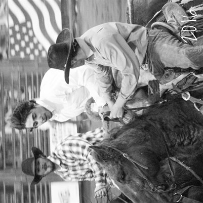 Bullriding and saddle bronc