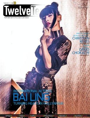 TwelveTen Magazine May/June 2016 Vol.1#4 - BAI LING (3 OF 3 COVERS)