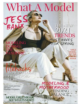 What A Model Jan 2021 Jess Banx