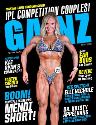 Natural Gainz Magazine Issue #37 - 2020 - Cover: Mendi Short