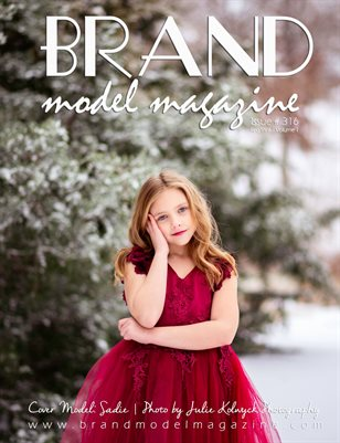 Brand Model Magazine  Issue # 316, Red/Pink Vol. 1