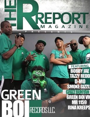 The R Report Magazine Green Boi Edition