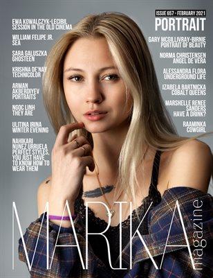 MARIKA MAGAZINE PORTRAIT (ISSUE 657 - February)