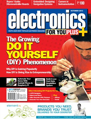 Electronics For You, October 2013