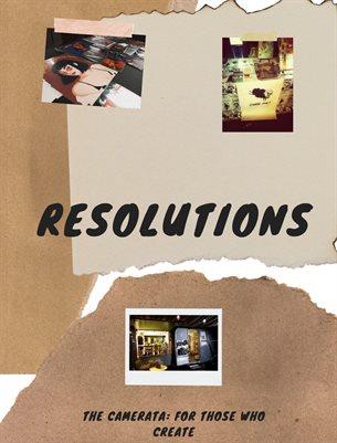 Resolutions Art Zine