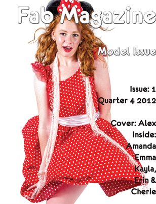 Fab Magazine Model Issue 1