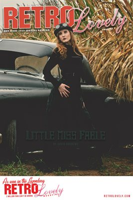 Little Miss Fable Hot Rods Cover Poster