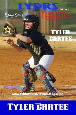 LYDRS MAGAZINE COVER POSTER - Cover/Feature - Tyler Cartee - July 2017
