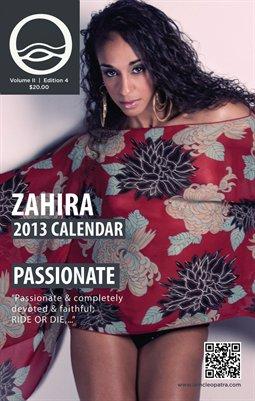Zahira - I AM CLEOPATRA 2013 Calender