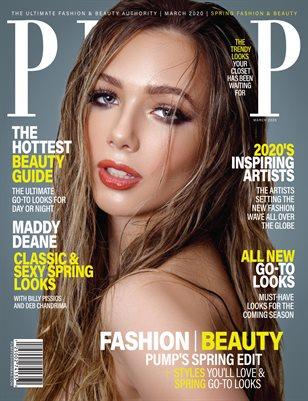 PUMP Magazine - Fresh Faces Edition - Vol.7 - March 2020