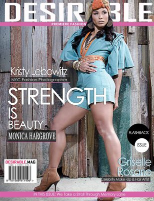 Desirable Magazine: Strength is Beauty