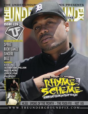 The Underground Fix Magazine Issue #26