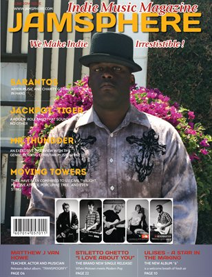 JamSphere Indie Music Magazine June 2014