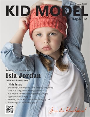 Kid Model magazine Issue 3 Volume 7 2019