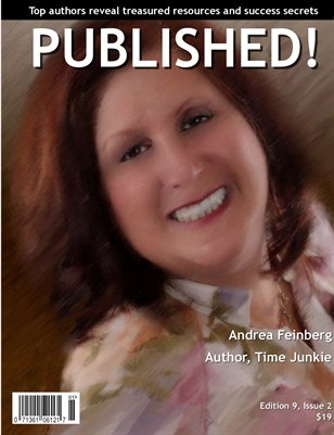 PUBLISHED! featuring Andrea Feinberg