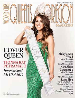 World Class Queens of Oregon Magazine with Tionna Petramalo