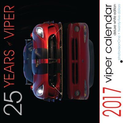2017 25 Years of Viper Calendar (Deluxe White)