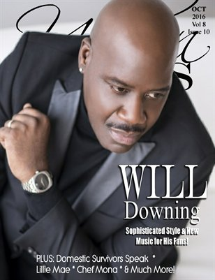 Urban Tymes Magazine Oct Issue Featuring Will Downing