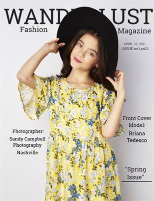 Wanderlust Fashion Magazine, Issue #1,Vol.2