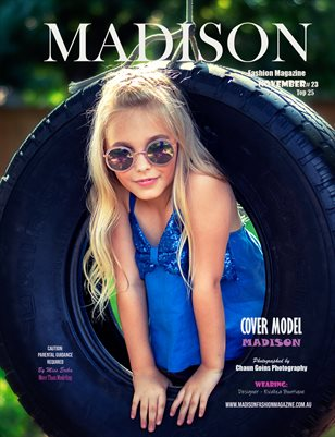MADISON Fashion Magazine - NOVEMBER # 23 Top 25