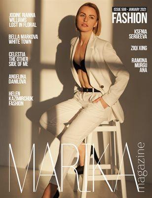 MARIKA MAGAZINE FASHION (ISSUE 508 - January)