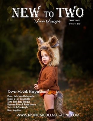 New To Two Model Magazine Issue #192
