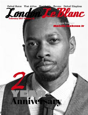 London Le'Blanc Magazine Vol.25-Melvin Jackson JR