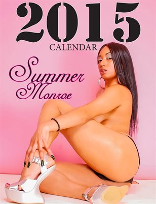 "Eye Cavity 2015 Calendar ""Summer Monroe"""