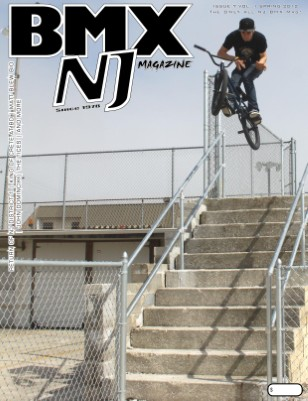 BMXNJ Magazine Issue 7 Spring - Early Summer 2012
